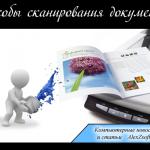 Бесплатные программы для сканирования документов