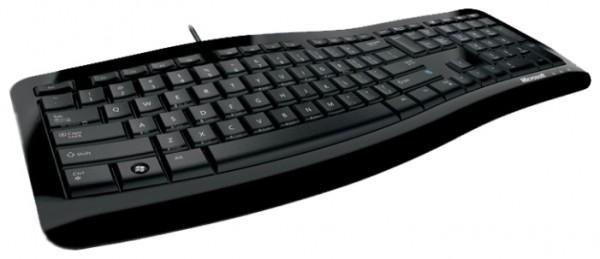 Изгиб клавиатуры