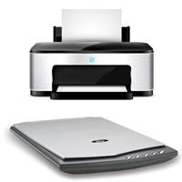 Установка принтера/сканера