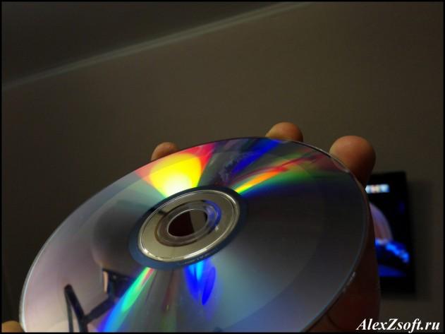 Восстановленный диск