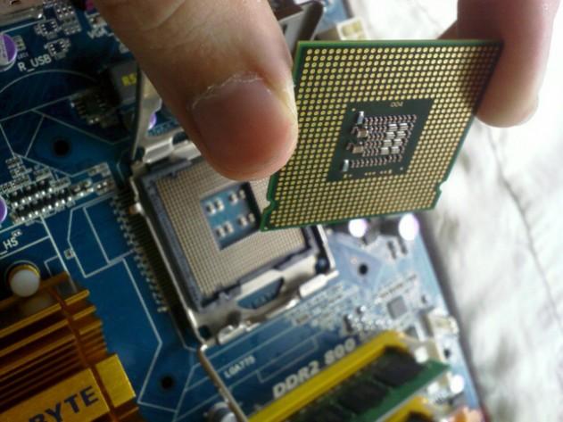 Замена процессора в Калуге