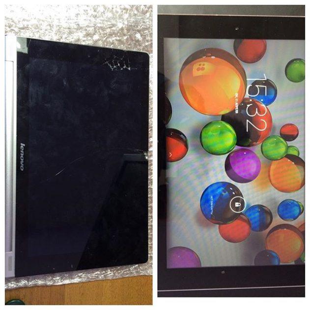 Замена дисплейного модуля в планшете в Калуге