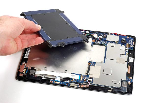 Замена аккумулятора в планшете в Калуге