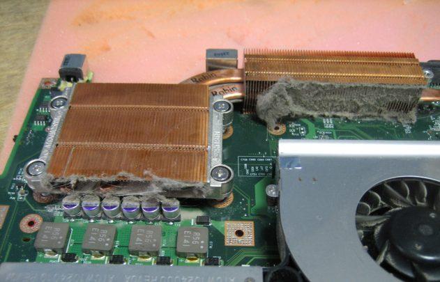 Чистка ноутбука от пыли в Калуге