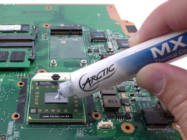 Замена термопасты в ноутбуке в Калуге