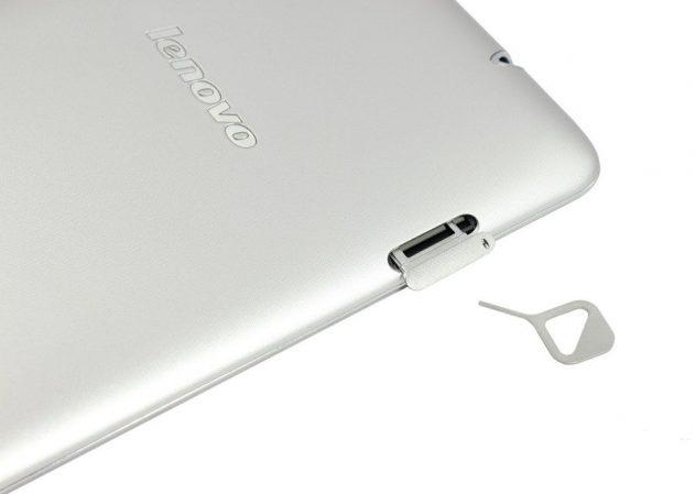 Слот карты памяти планшета