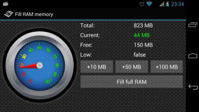 оперативная память планшета