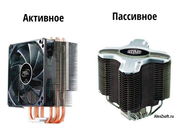 Типы охлаждения