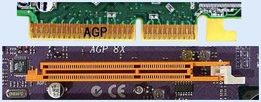 Слот AGP видекарты