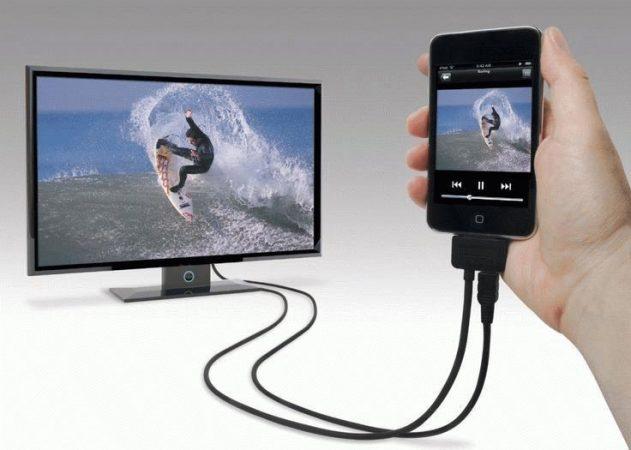 Соединение телевизора и смартфона