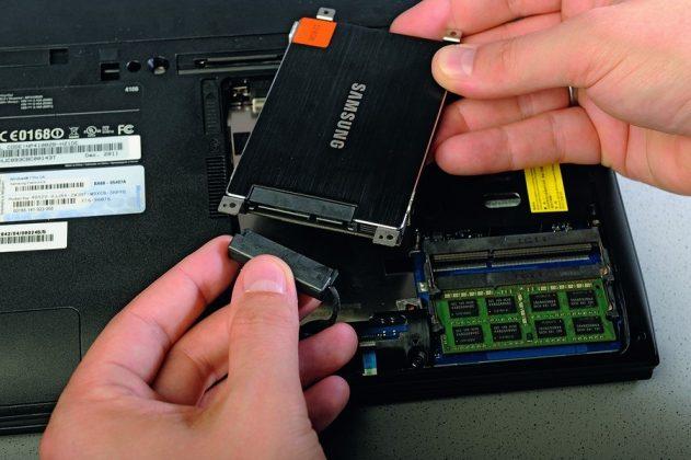 Модернизация HHD на SSD диск в ноутбуке