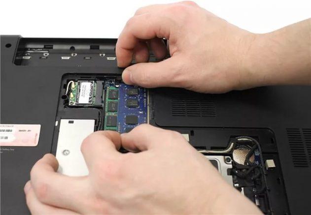 Модернизация оперативной памяти в ноутбуке