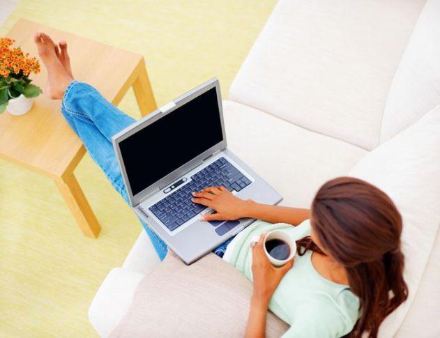 Комфортная работа с ноутбуком