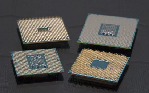 внешний вид съемных PGA процессоров