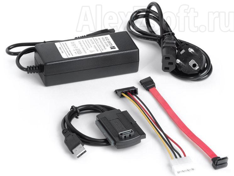 Конвертер-переходник , USB 2.0 к SATA/IDE