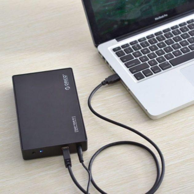 Внешний HDD 3.5 карман бокс USB
